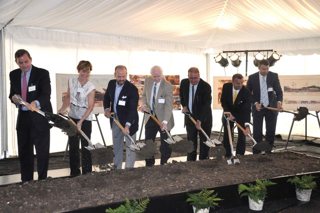 Lane Parke groundbreaking