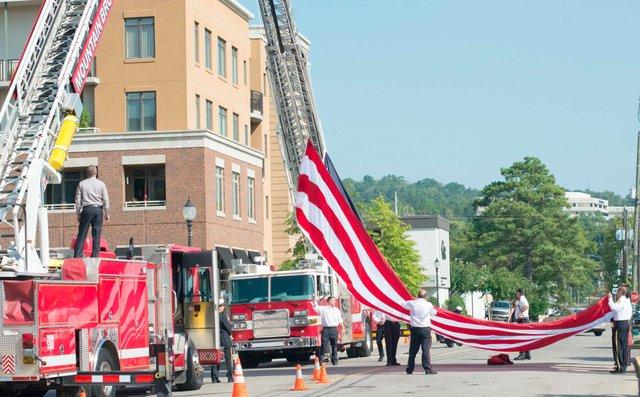 Patriot Day ceremony 2015