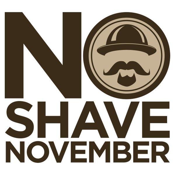 No-Shave November logo