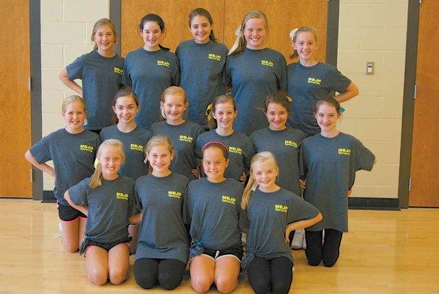 1112 MBJH Dance Team