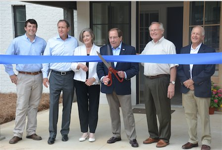 The Manning Ribbon Cutting