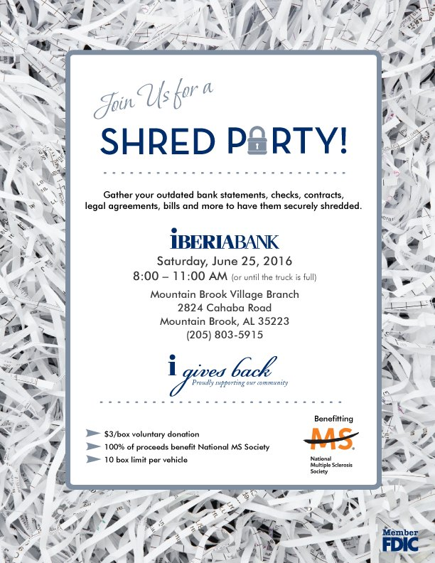 IBERIABANK Mountain Brook Village Shred It Party.png