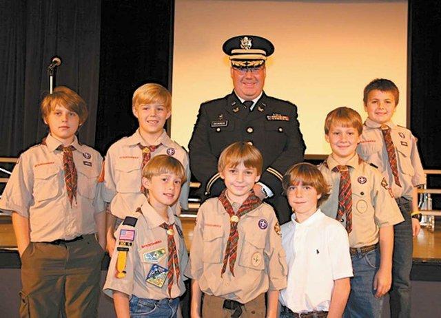 1212 Crestline Veterans Day