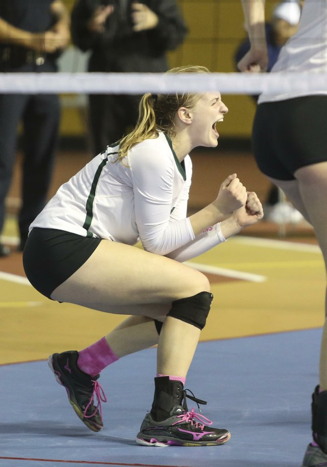 Mountain Brook Volleyball SemiFinals 2016