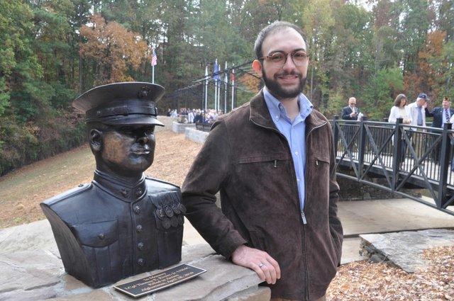 Bryce Martinez bronze bust