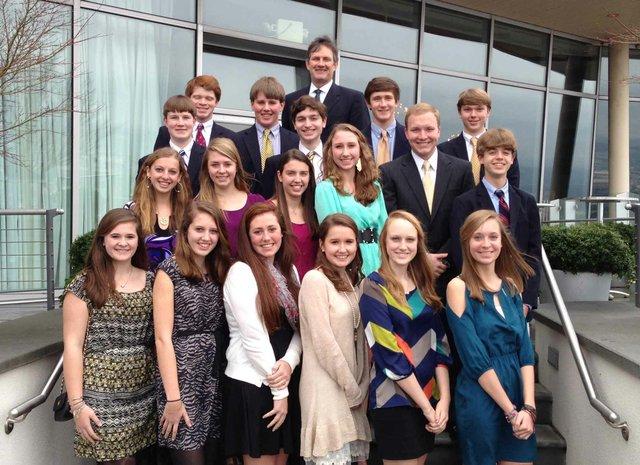 0213 Leadership Mountain Brook Class 2013-2014