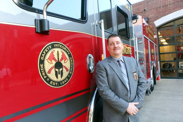 Mountain Brook Fire Chief Chris Mullins