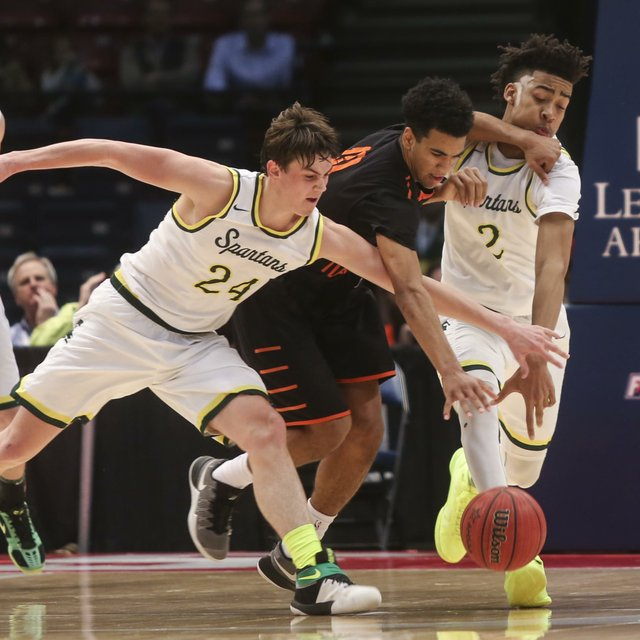 MBHS Boys Basketball State Finals 2017
