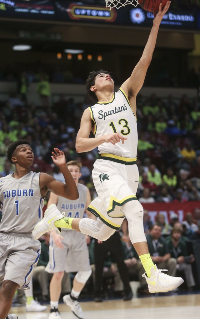 Spartans Save Best For Last Win State Title