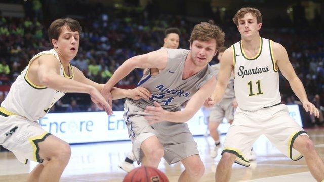 Mountain Brook Boys Basketball State Championship 2017