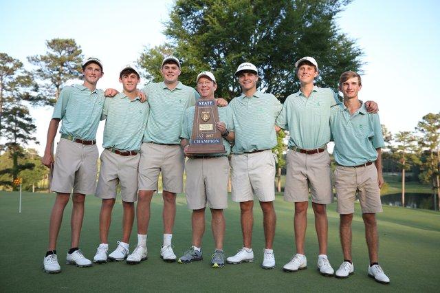 Mountain Brook boys golf 2017